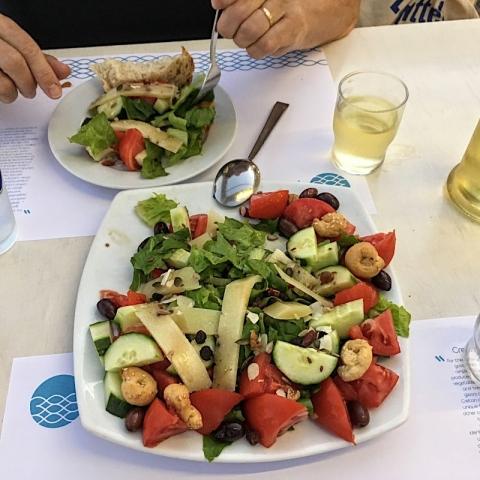 Cretan salad
