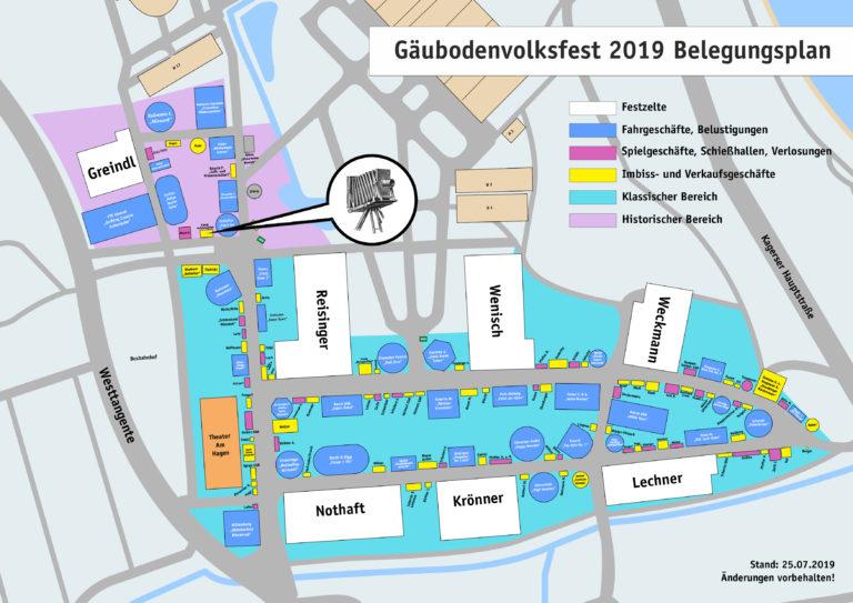 Gäubodenvolksfest layout