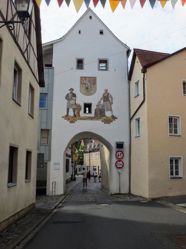 One of many town gates