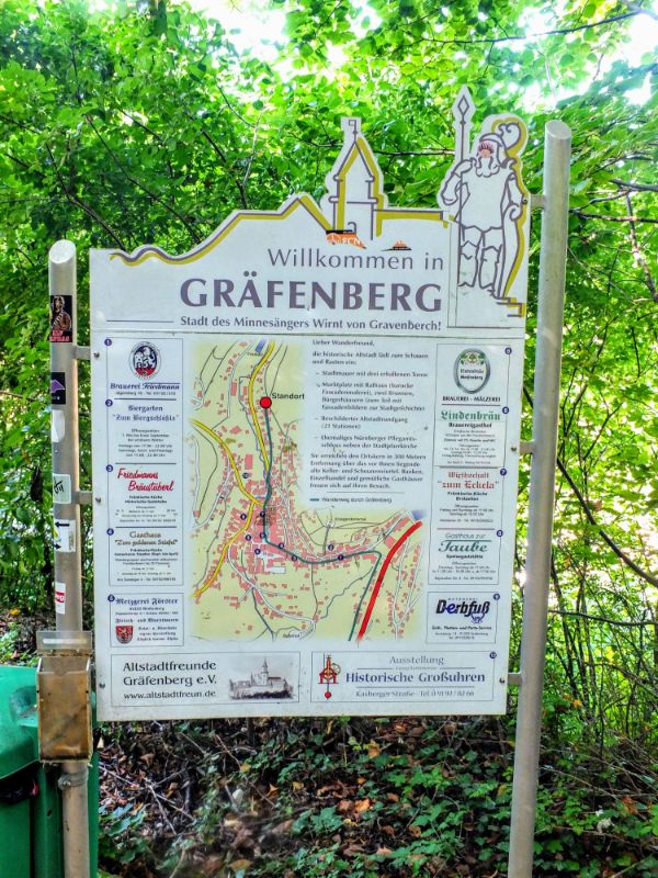 entering Grafenberg