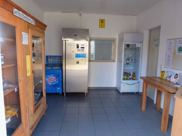 self-service refreshment shop