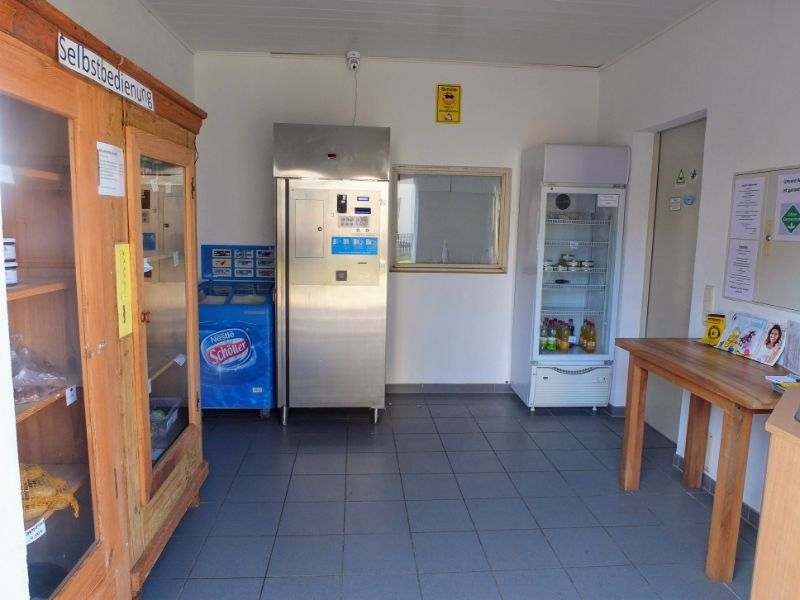 self-service refreshment shop