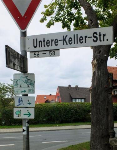 entering Forchheim