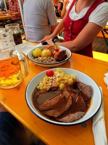 roast oxen plate