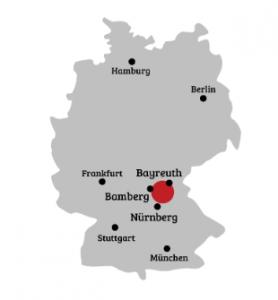 Franconian Switzerland location