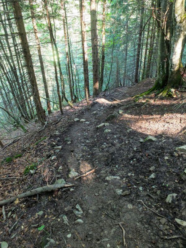 steep stretch