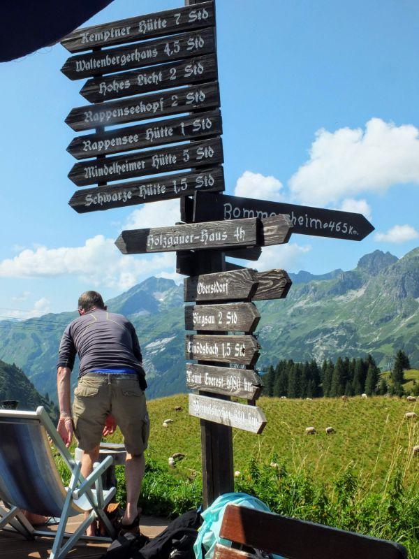 waystop into the Alps