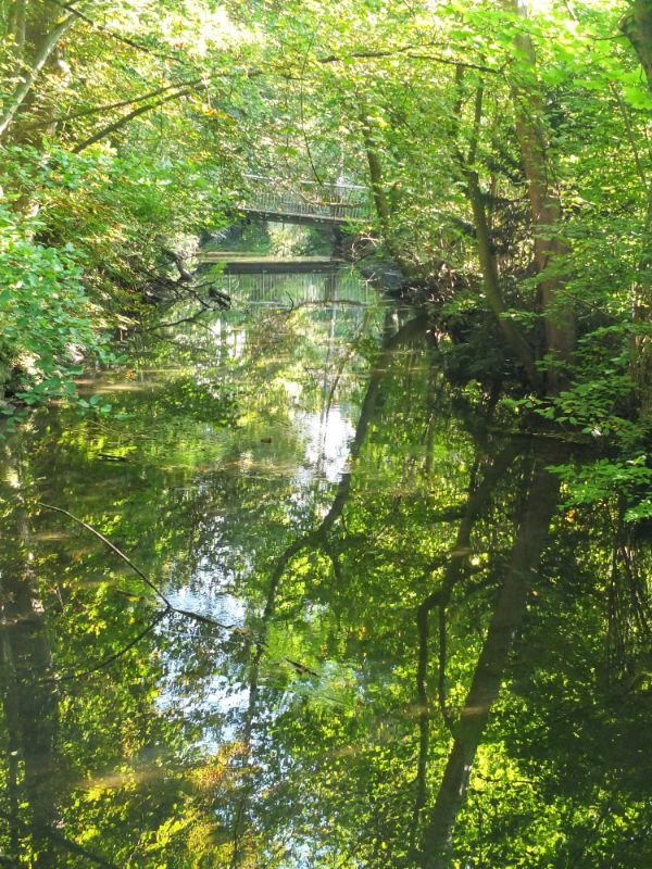 Moosach River green belt