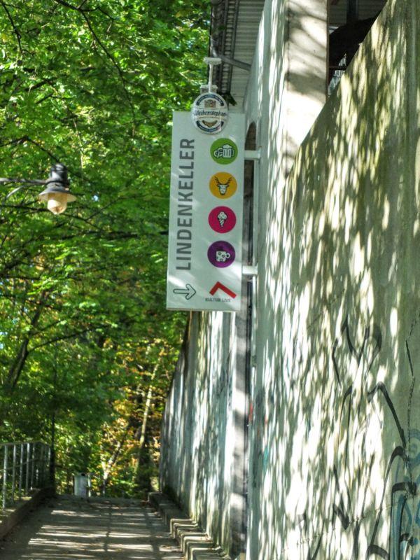 Lindenkeller on Weihenstephaner hill walk