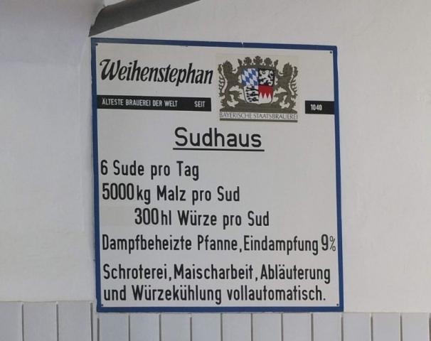 Weihenstephan brewhouse