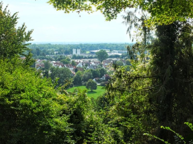 view to Isar valley