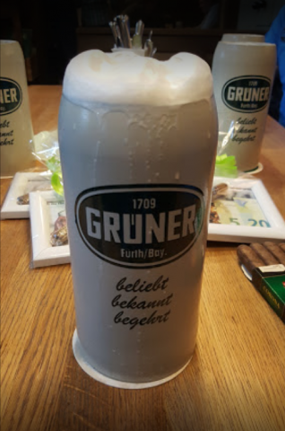 Gruner Bier - image by Thomas Holzl