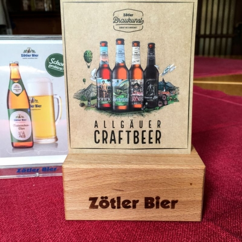 "Zotler brews a ""craft beer"" range as well as traditionals"