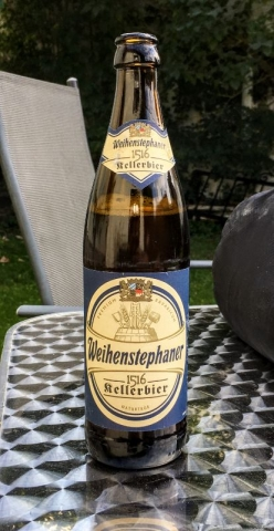 Weihenstephaner Kellerbier on the trail
