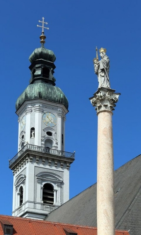 Freising Marienplatz - image by Doc Searls
