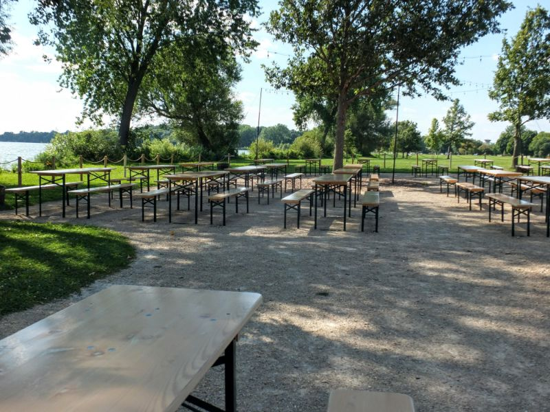 Obrich Park Beer Garden, Madison, WI