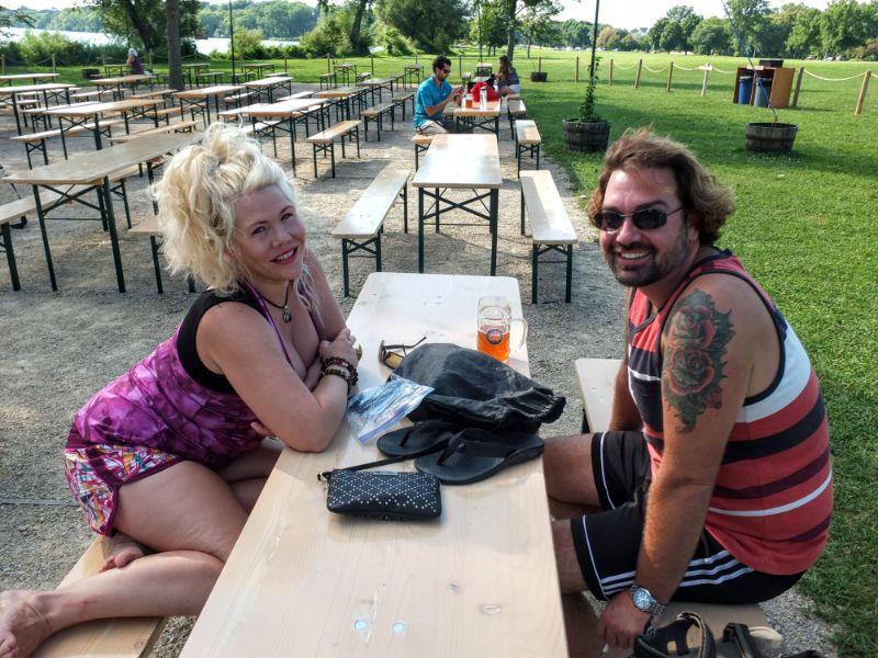 Olbrich Park Beer Garden, Madison, WI