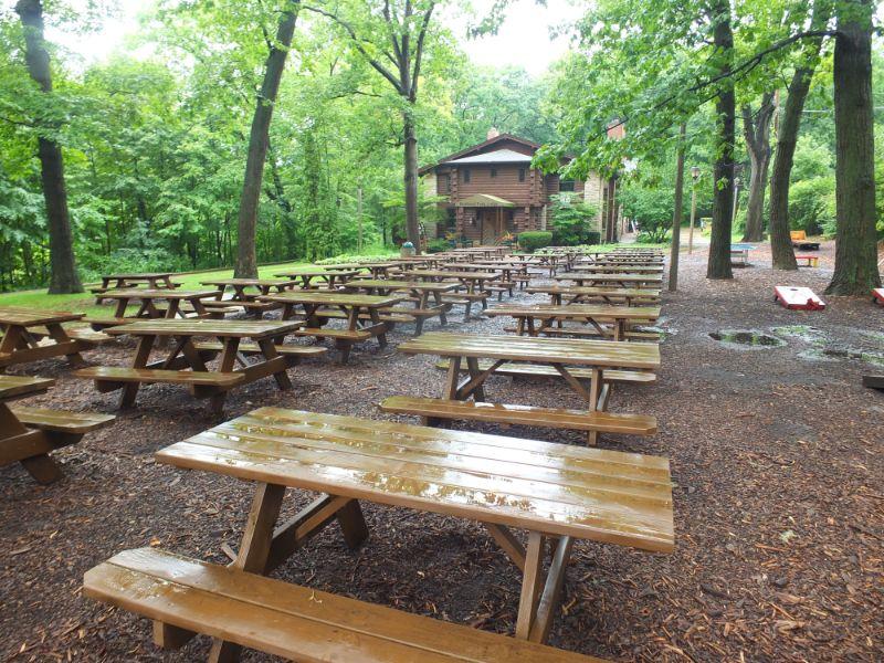 Hubbard Park Beer Garden, Milwaukee, WI