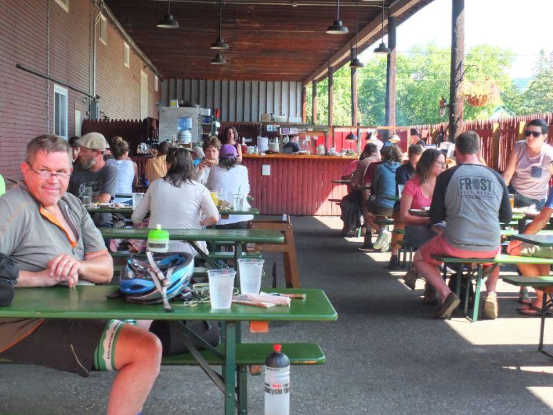 Lost Nation Brewing Beer Garden, Vermont