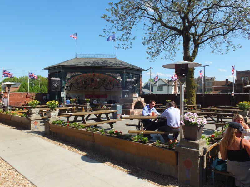 Rathskeller Beer Garden, Indianapolis, IN