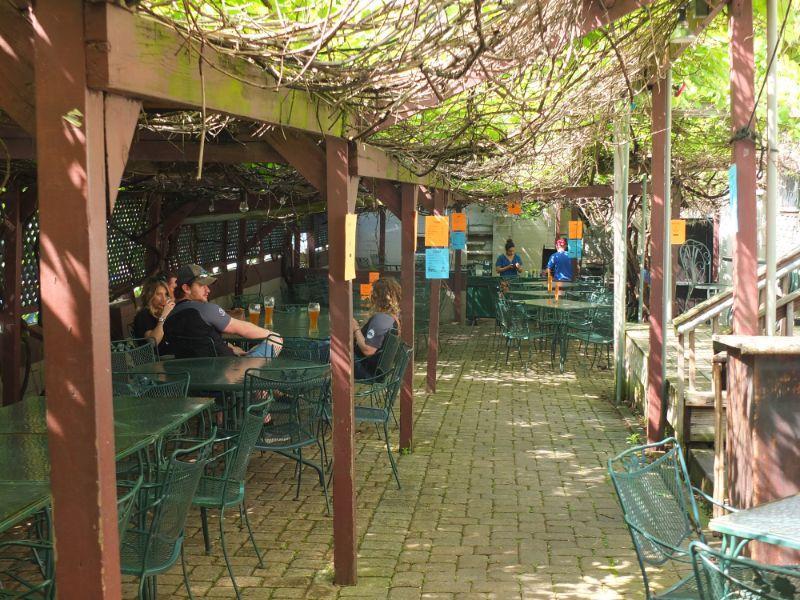 Mecklenberg beer garden, Cincinnati, OH