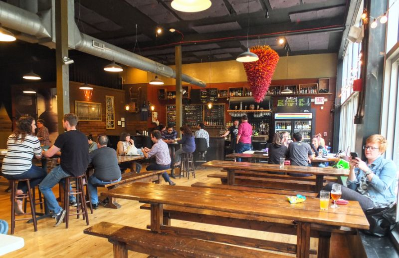 Bottle House Brewery taproom