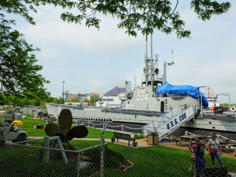 U.S.S. COD Submarine Memorial National Historic Landmark