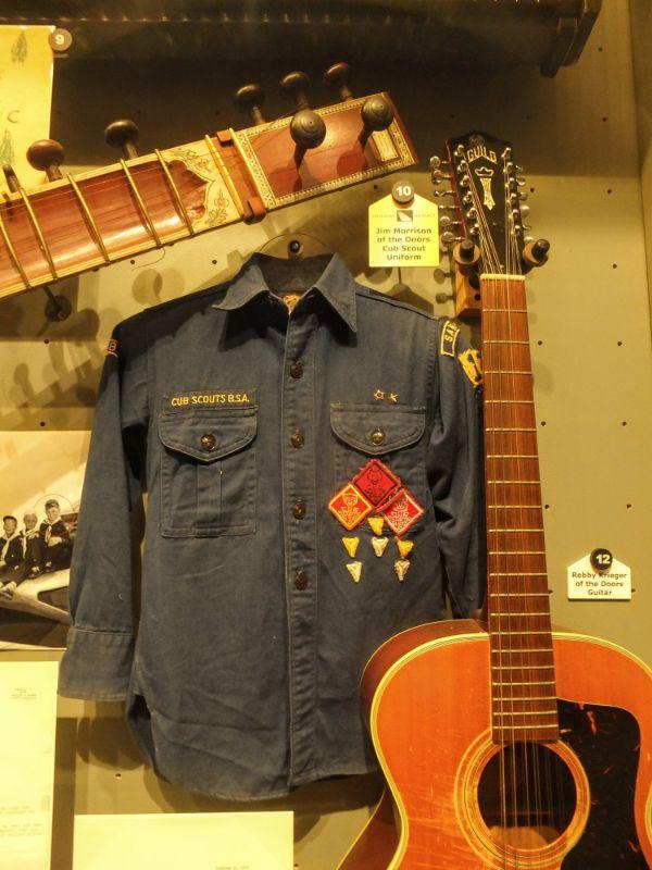Jim Morrison's Cub Scout uniform