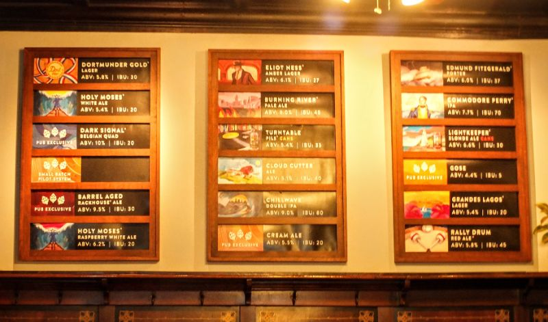 Great Lakes Brewing lineup