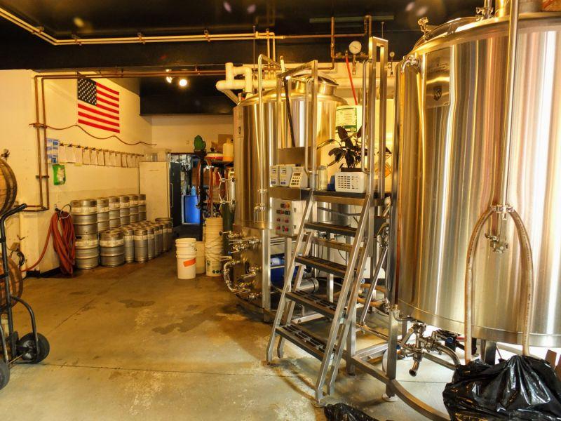 Platform brewhouse