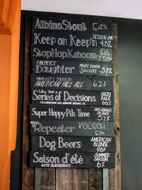 Butcher & Brewer line-up