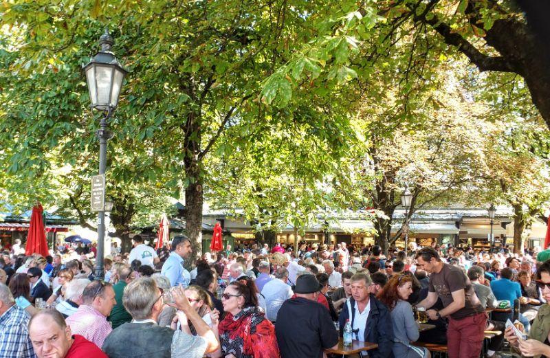 Victual Market Beer Garden, Munich