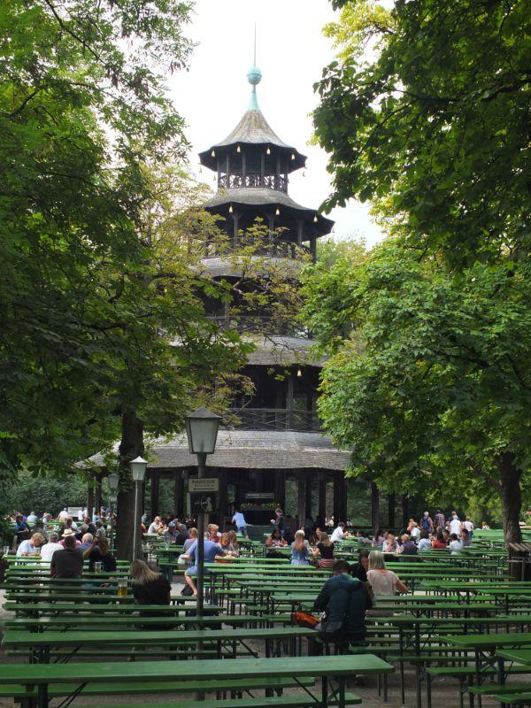 Chinese Tower Biergarten, Munich