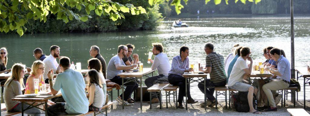 River Biergarten