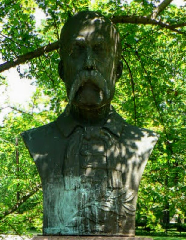 cultural garden bust