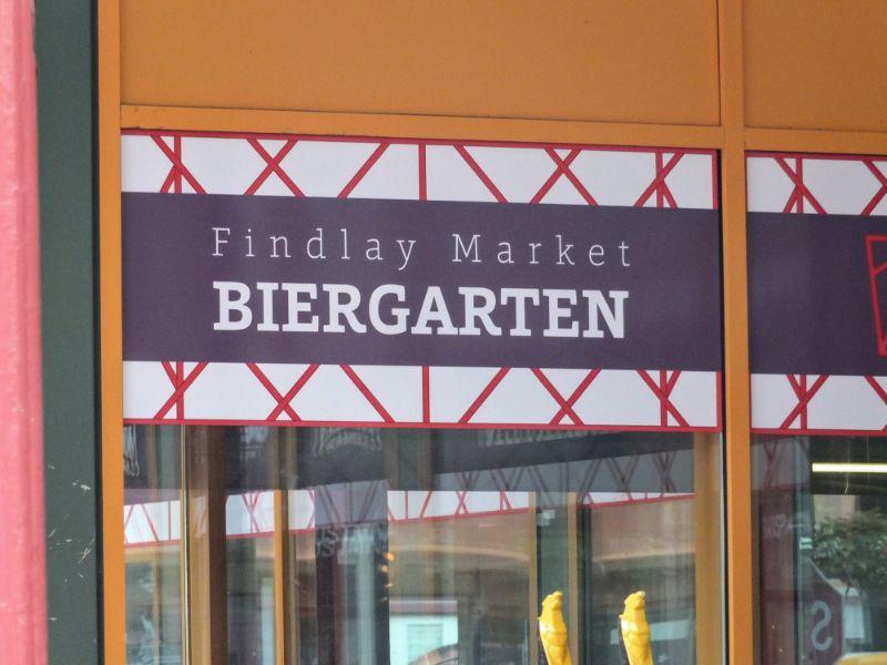 Findlay Market Biergarten