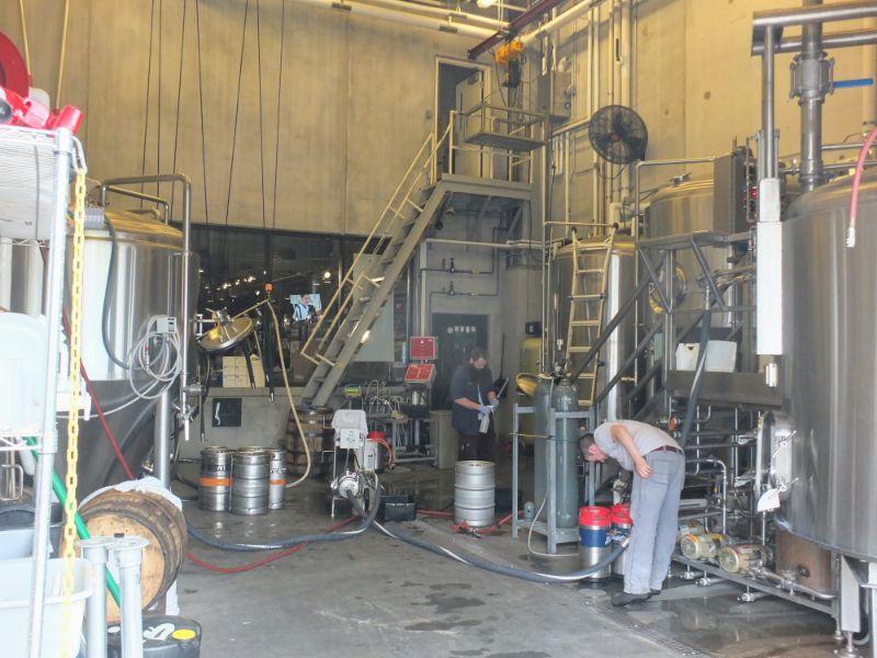 Braxton Labs brew house
