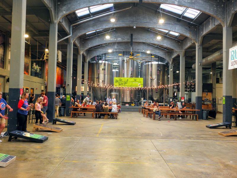 Rhinegeist beer hall