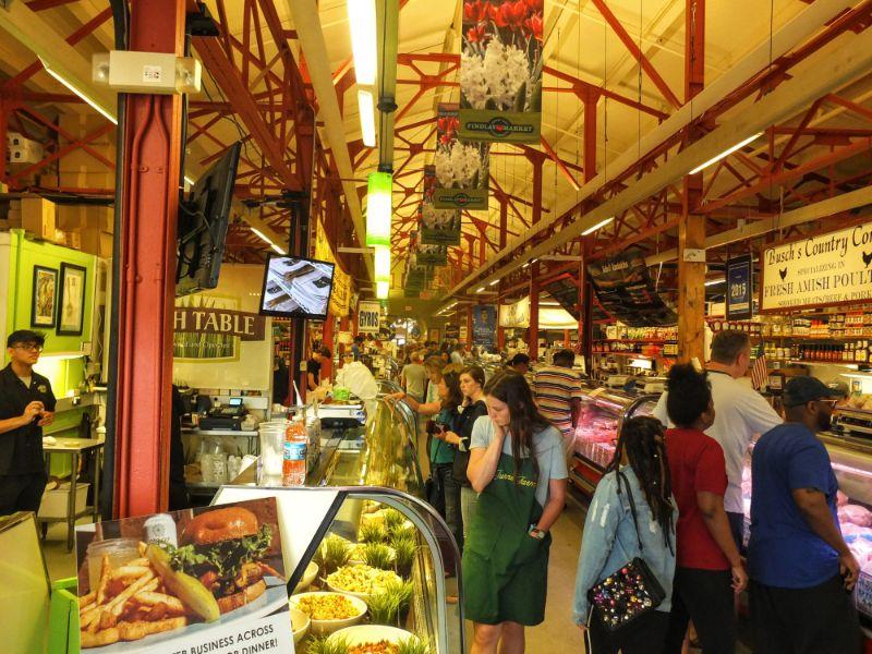 inside Findlay Market