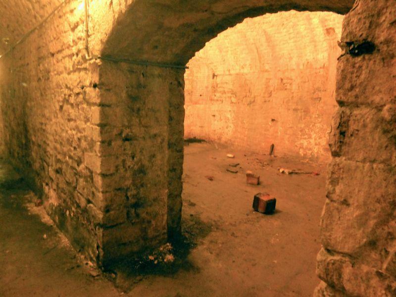 Crown Brewery cellar