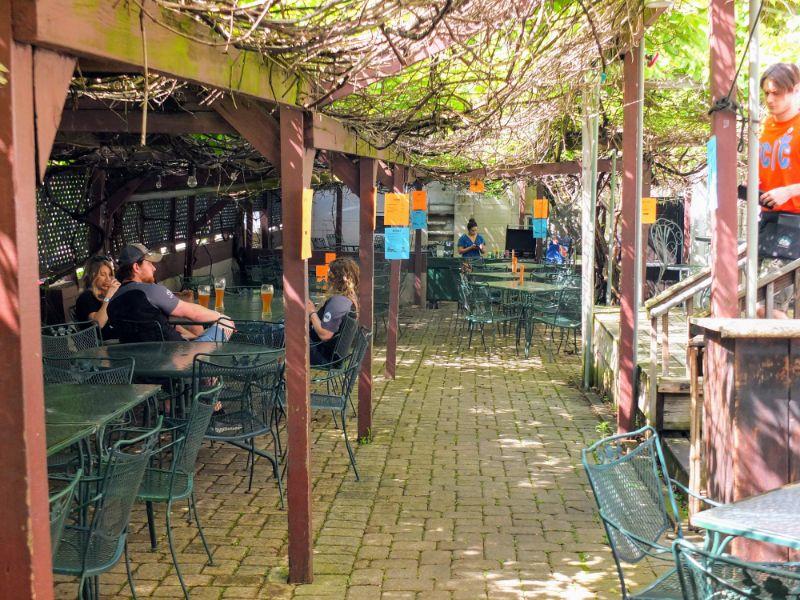 Mecklenburg's beer garden