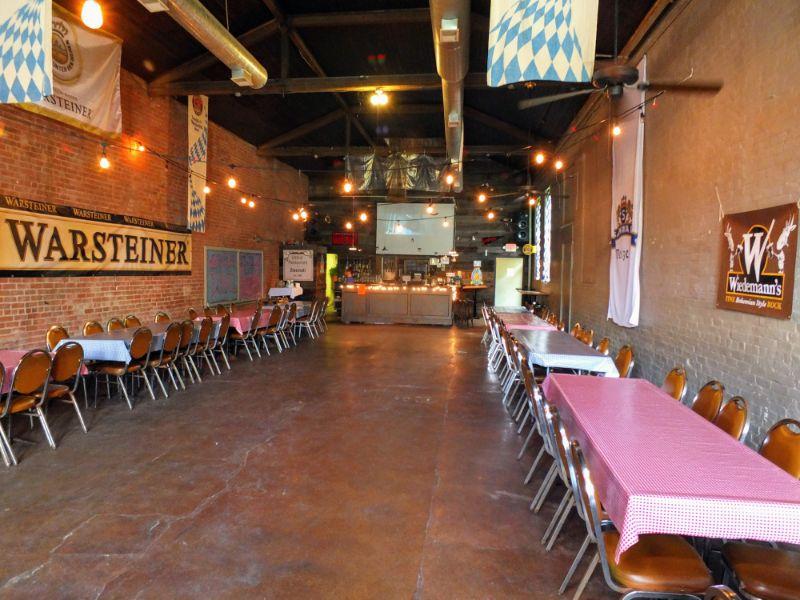 Mecklenburg's beer hall
