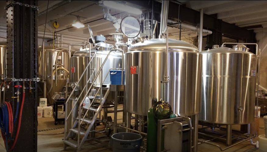 Northern Row brewhouse - image by David Berger