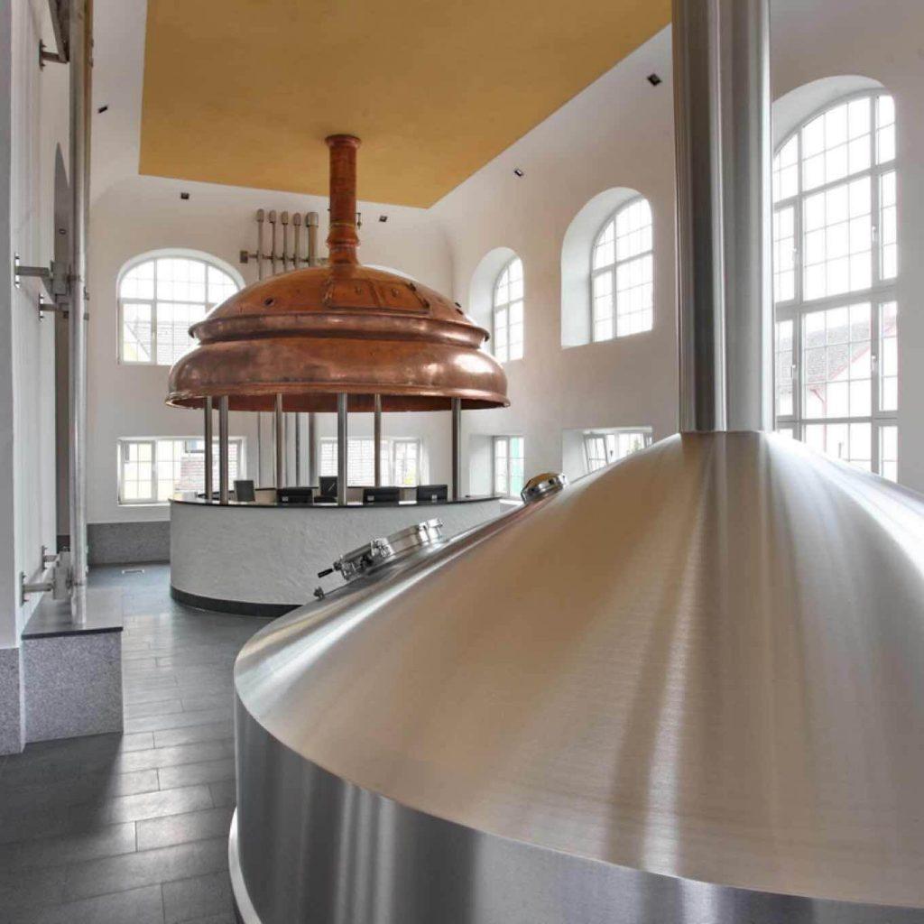 Hofbrauhaus Freising brewhouse