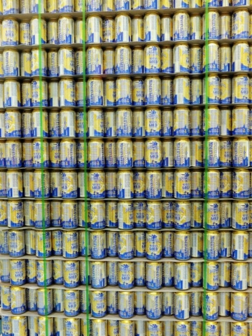 cans in waiting