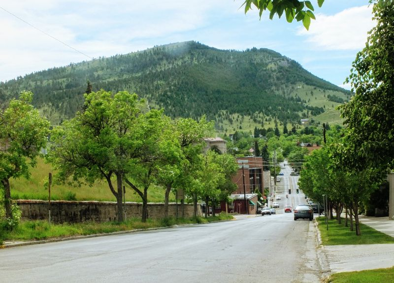 view to Mt. Helena