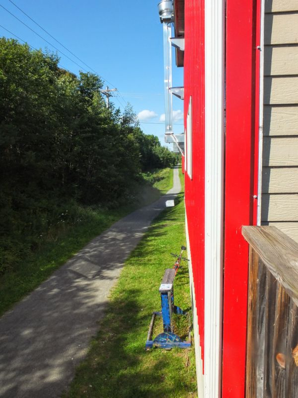 Lost Nation is situated on the Lamoille Valley Rail Trail