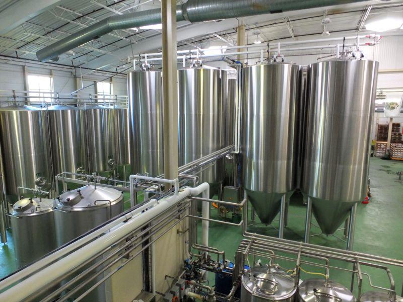 Von Trapp brewery floor
