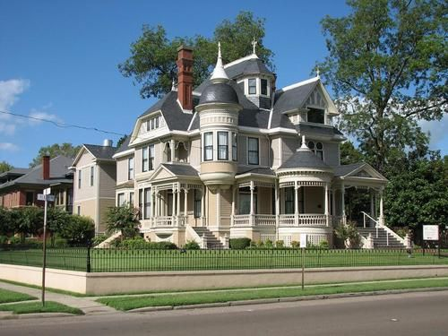 One of Helena's many Victorian houses
