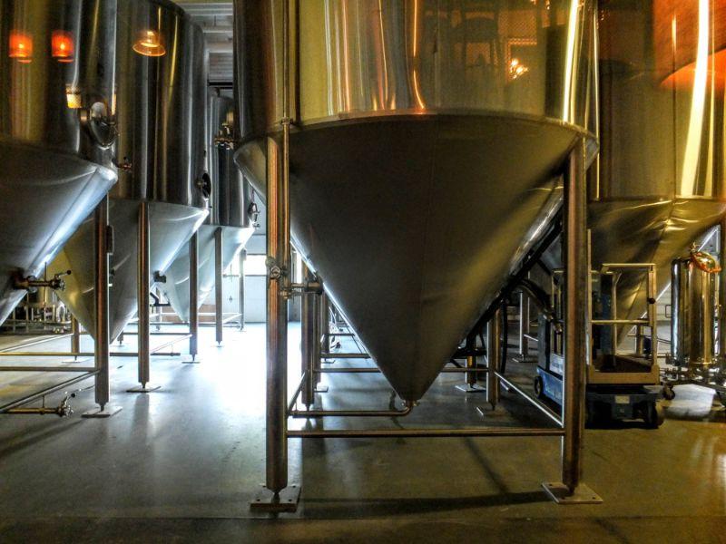 Perrin Brewing tanks